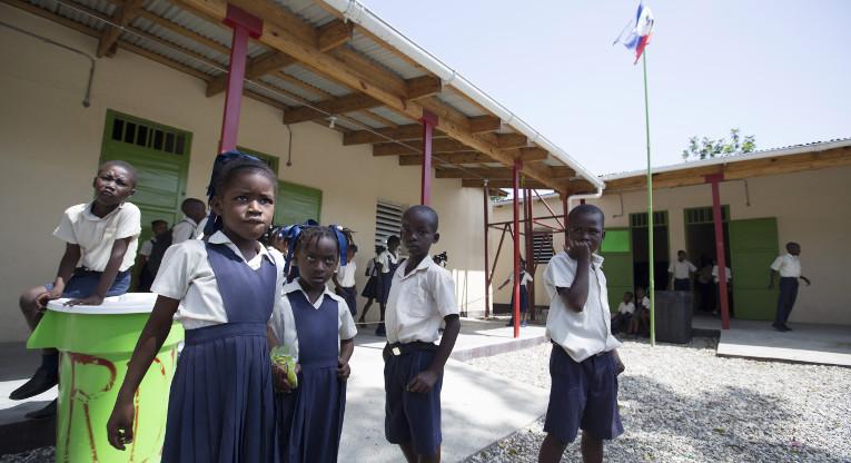 Myrdud school, Léogâne, Haiti.