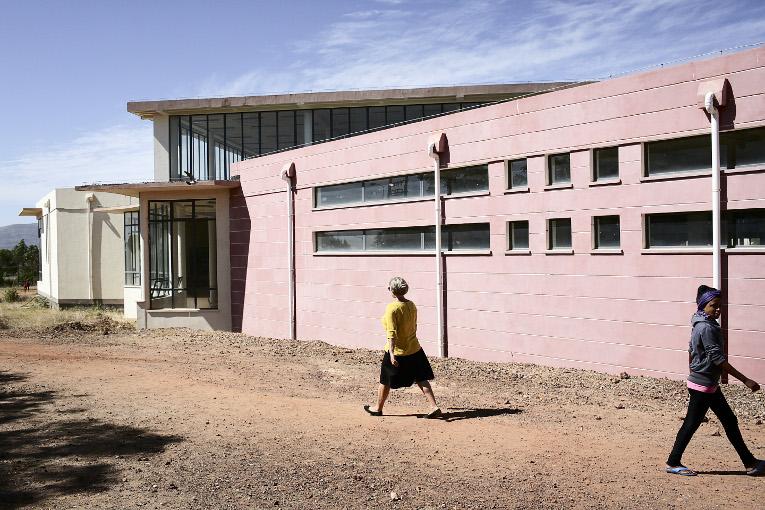Eritrean Institute of Technologyn kirjasto.