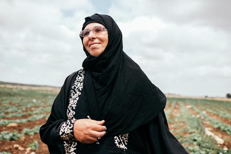 Ibtisam Musa, 48, asuu Deir Balloutissa, noin 5 000 asukkaan kylässä.