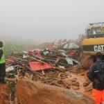 Sierra Leone, Regent alue, joka kärsi suurimmat vahingot..