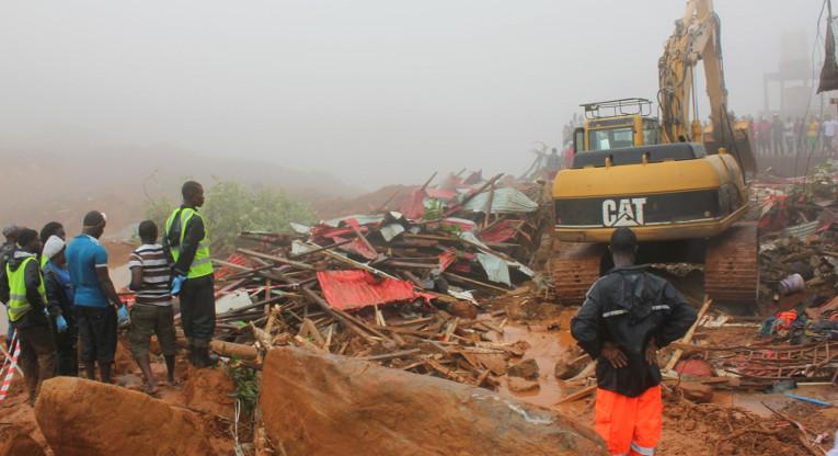Sierra Leone, Regent area.