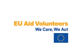 EU Aid Volunteers logo