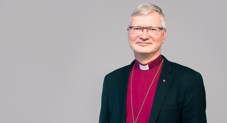 Mikkelin hiippakunnan piispa Seppo Häkkinen. Kuva: Tatu Blomqvist