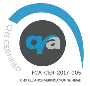 FCA's CHS certification mark