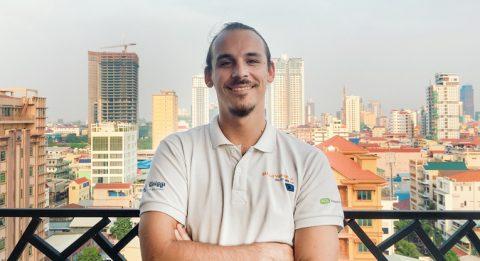 """Mikael Ashornille parhaita hetkiä Kambodžassa ovat olleet onnistumisen tunteet yhdessä työtiimin kanssa: """"Kun ihmiset eri kulttuureista onnistuvat ymmärtämään toisiaan ja saamaan jotain upeaa aikaiseksi."""""""