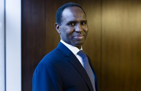 Dr. Mohamed Elsanousi has been with the Network since 2014 and previously served as the Director of the Network's Washington, DC office. Photo: Anna Tervahartiala