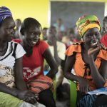 The newly finished schools are also meant to attract more girls to school in the Greater Pibor Area, South Sudan. Photo: Hugh Rutherford