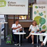 KUA:n tapahtuma kehitysyhteistyöstä muuttuvassa maailmassa Porin SuomiAreenassa