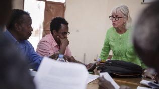 KUA:n opettajat ilman rajoja -vapaaehtoinen Eritreassa