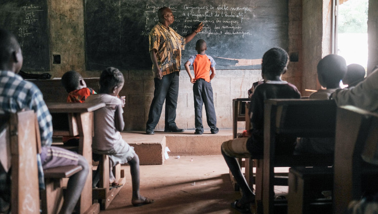 Finn Church Aid promotes peace and education in Central African Republique.