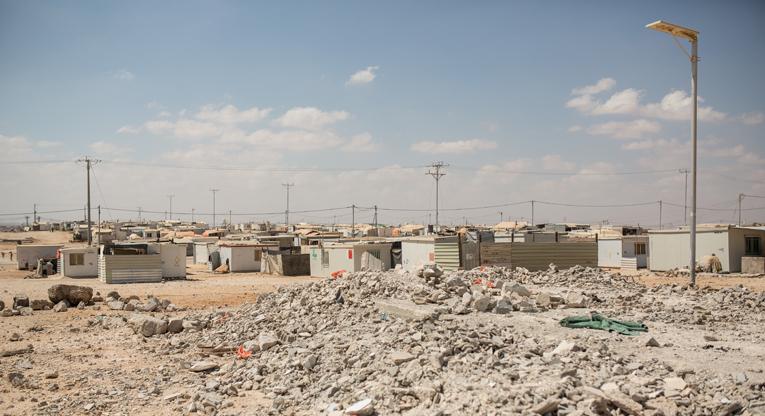 Zaatarin pakolaisleiri Jordaniassa