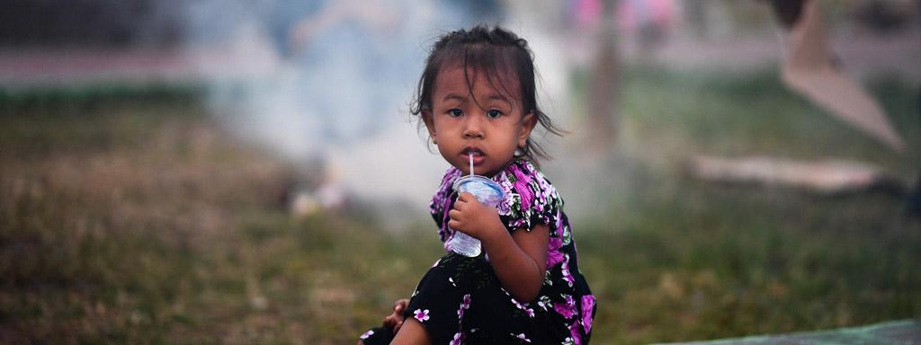 hjälp tsunamins offer i indonesien med kyrkans utlandshjälp