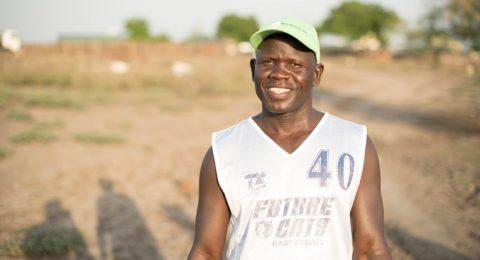 Moses Ludoru työskentelee Kirkon Ulkomaanavun toimistolla rauhantyön hankkeessa Etelä-Sudanissa