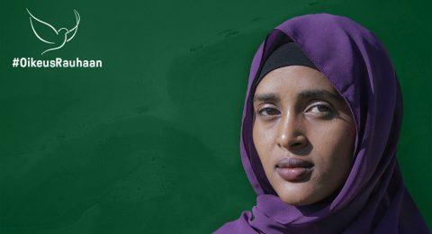 Aziza Maalim, rauhantyön koordinaattori Keniassa