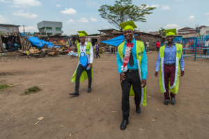 Graduates from FCA's vocational training in Katwe, Uganda