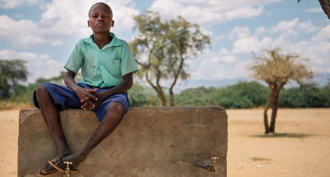 Yhteisvastuukeräys 2019 tukee kenialaisten koululaisten kuten Bensonin koulutietä.