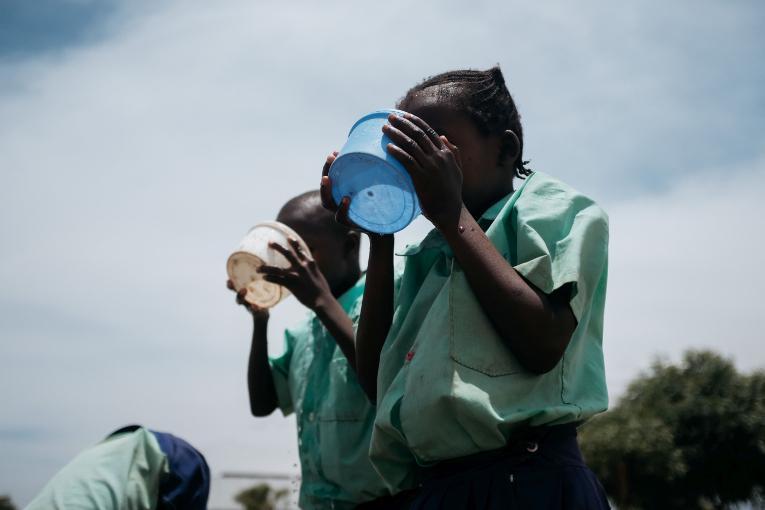 Yhteisvastuu 2019 keräyksen varoilla tuetaan lasten koulunkäyntiä Keniassa.