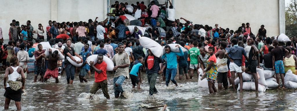 Auta toimittamaan hätäapua hirmumyrsky Idain uhreille Mosambikiin ja Zimbabween