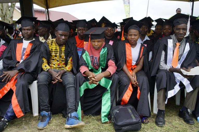 KUA:n tukema ammattikoulu tukee nuorten työllistymistä Ugandassa.