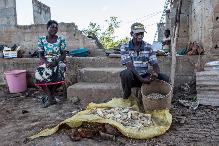 Kirkon Ulkomaanapu vie hätäapua Mosambikiin Buzin kaupunkiin.