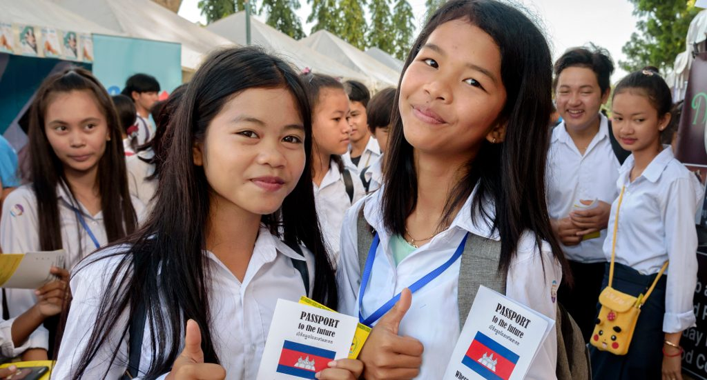 FCA supports career guidance and counseling in Cambodia.