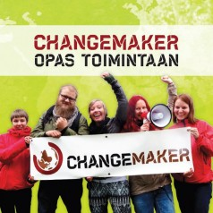 Changemakerin opas toimintaan 2015 -kansi.