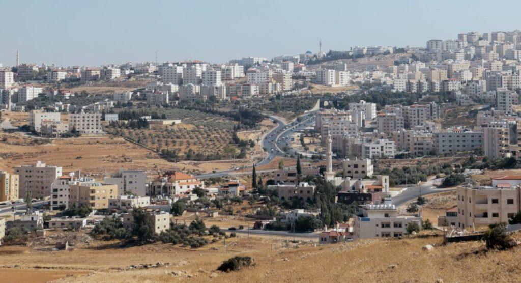 Kaupunkinäkymä Ammaniin.