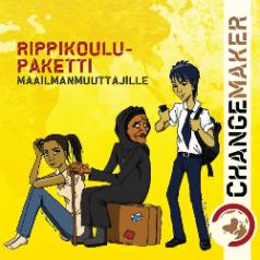 Changemakerin oppaan Rippikoulupaketti maailmanmuuttajille kansi.