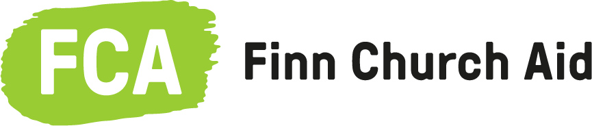 Finn Church Aid's logo