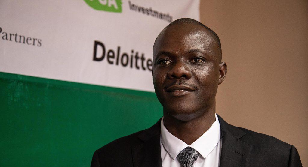 Ugandalainen Emmanuel Obwori vastaa FCA Investmentsin sijoituksista.