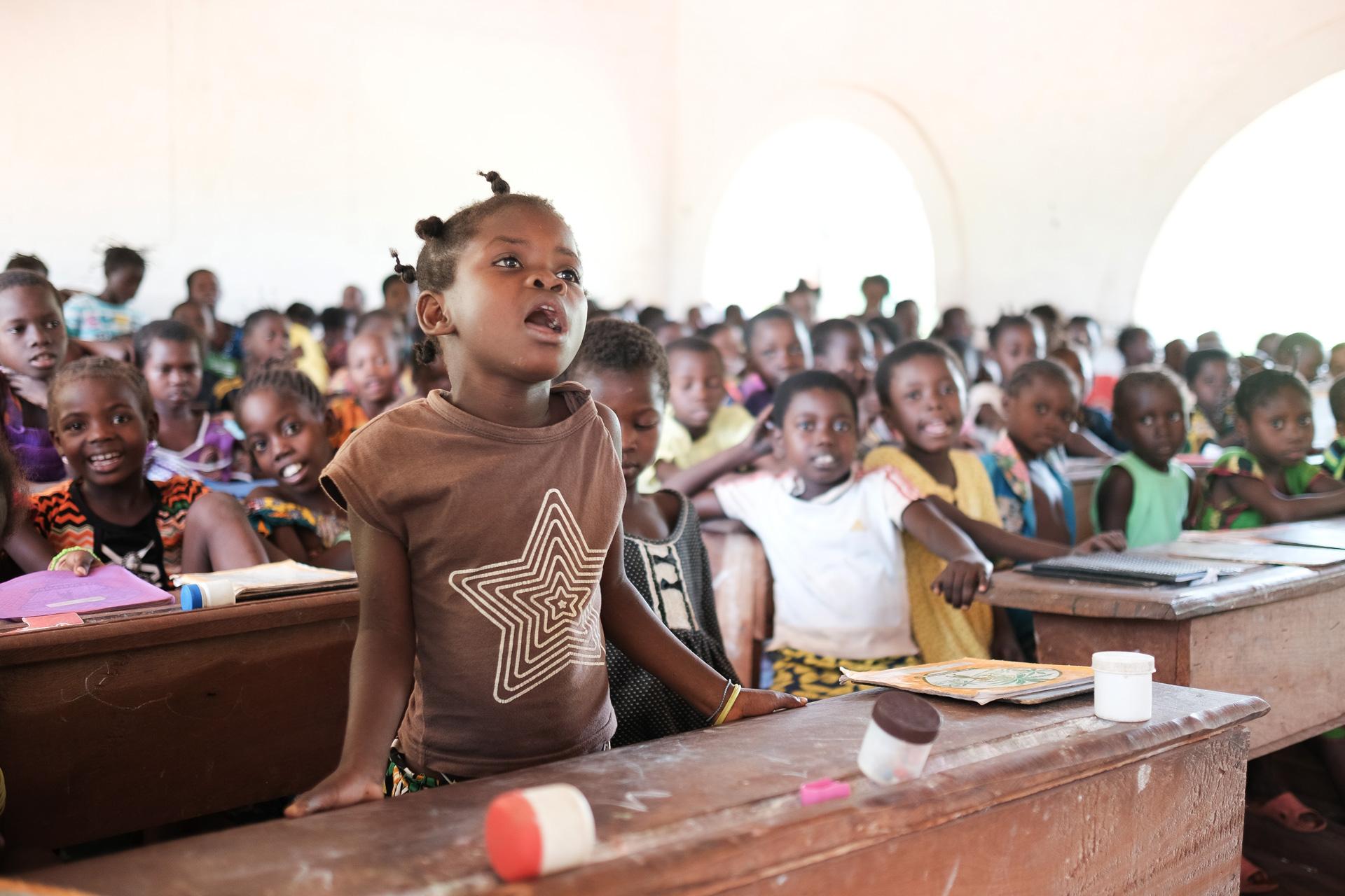 KUA tukee tyttöjen koulutusta Keski-Afrikan tasavallassa