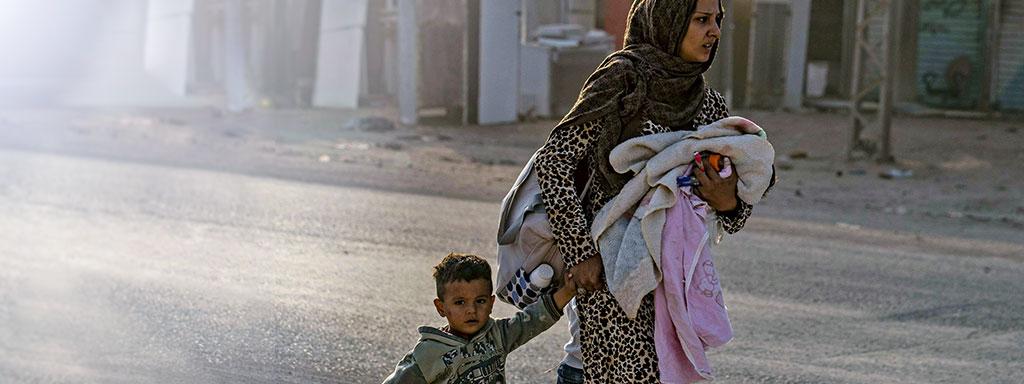 Syyrian kriisi: perheet tarvitsevat nyt apuasi!