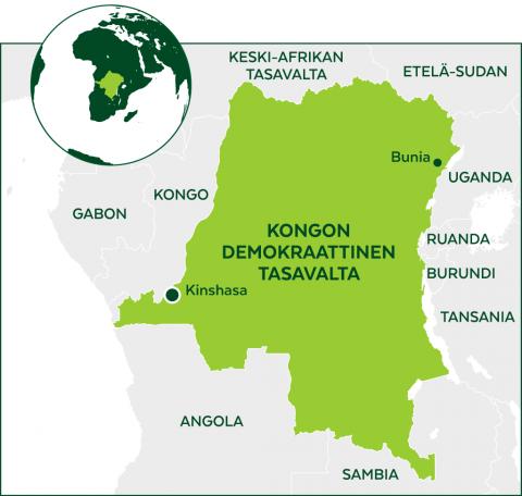 Kongon kartta