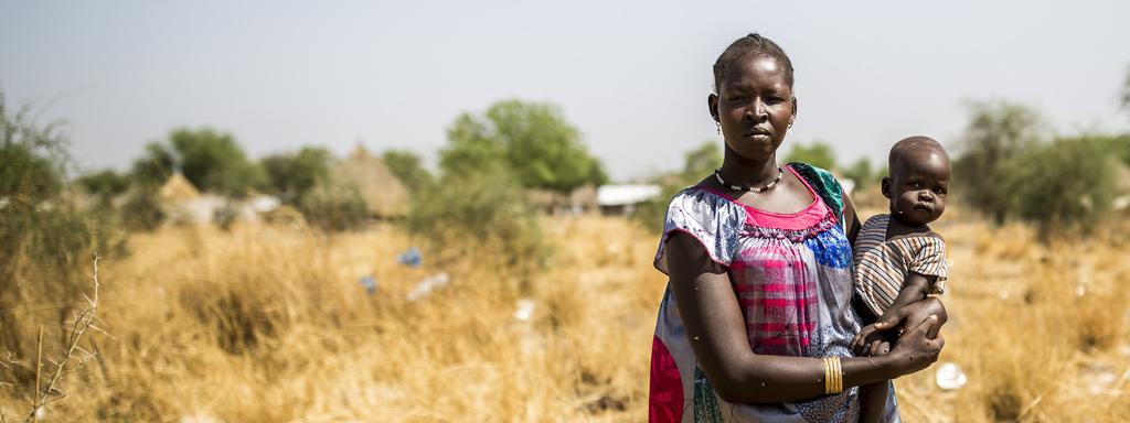 Etelä-Sudanin ruokakriisi koettelee perheitä. Lahjoita ja auta perheitä turvaamaan ruoansaanti.