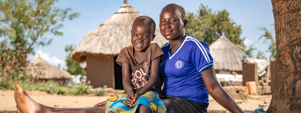 Betty is a refugee from South Sudan. Thanks to FCA's donors she can now go to school again. Donate and help refugees like Betty.