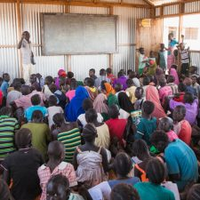 Finn Church supports primary education in Kalobeye