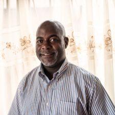 Haq Makumbi, RACOBAO:n projektipäällikkö.