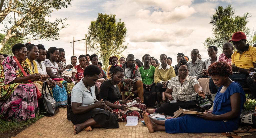 Ugandalainen naisten säästöryhmä