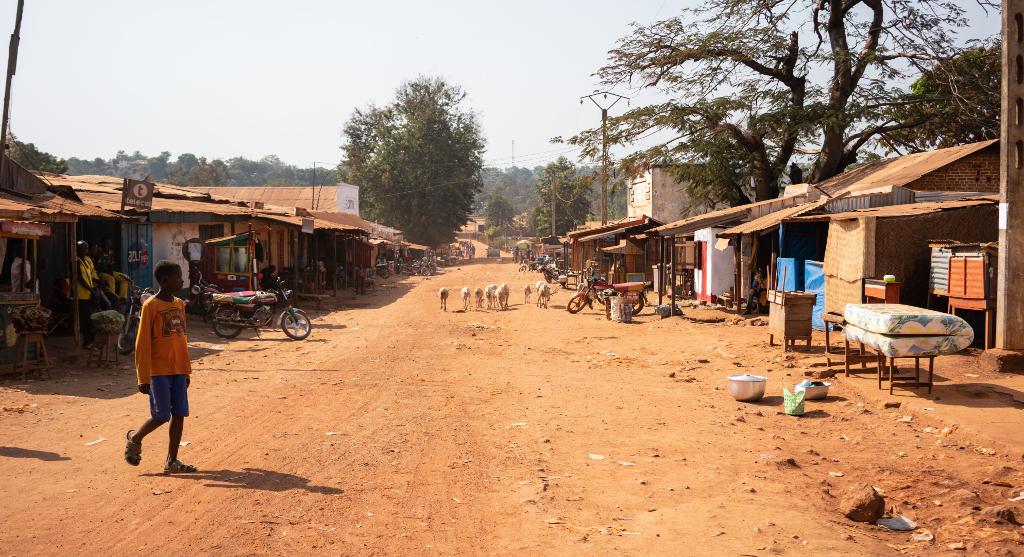 Elämää Bozoumin kaduilla Keski-Afrikan tasavallassa