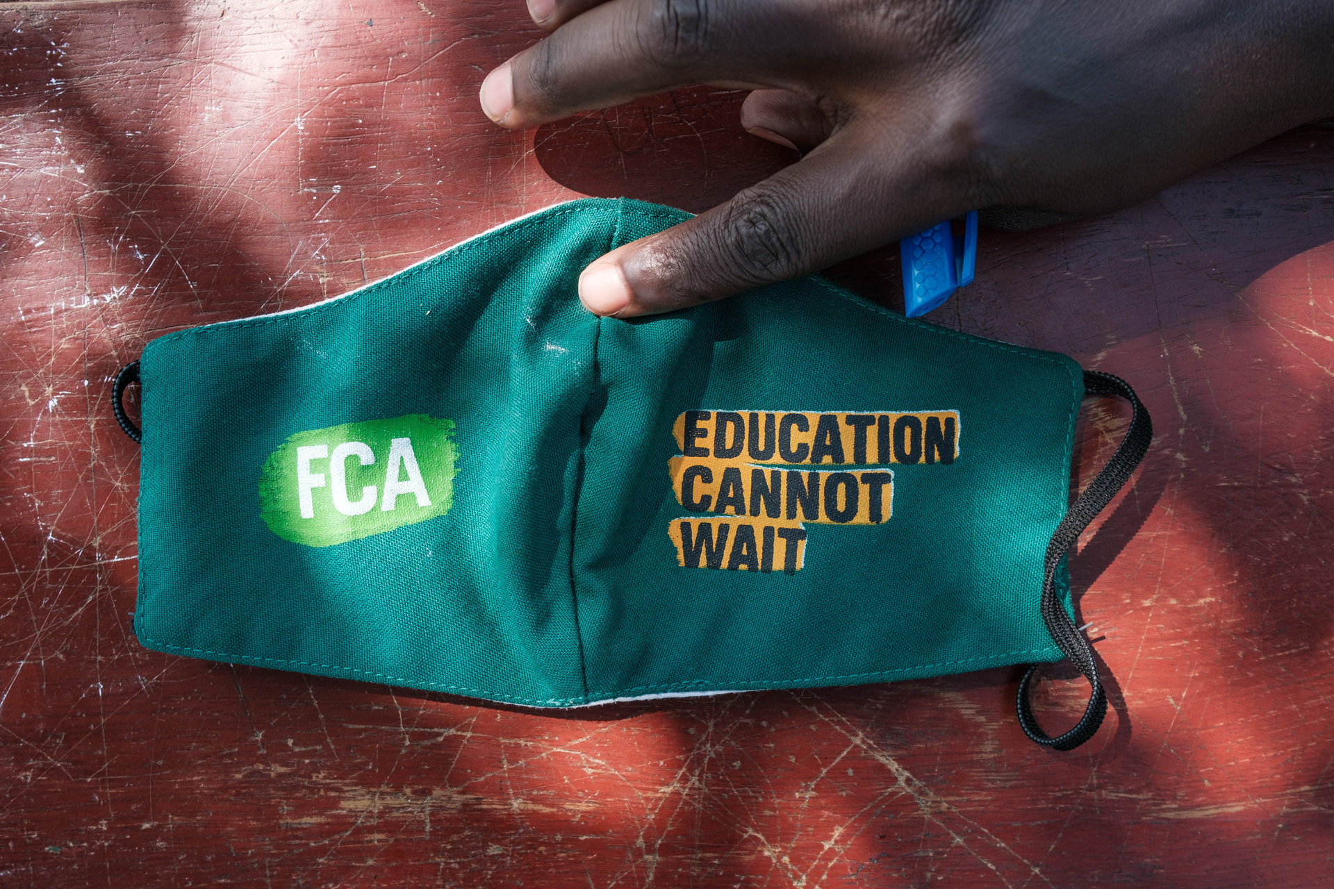 Government guidelines, such as social distancing and the use of face masks, are implemented in all schools supported by FCA