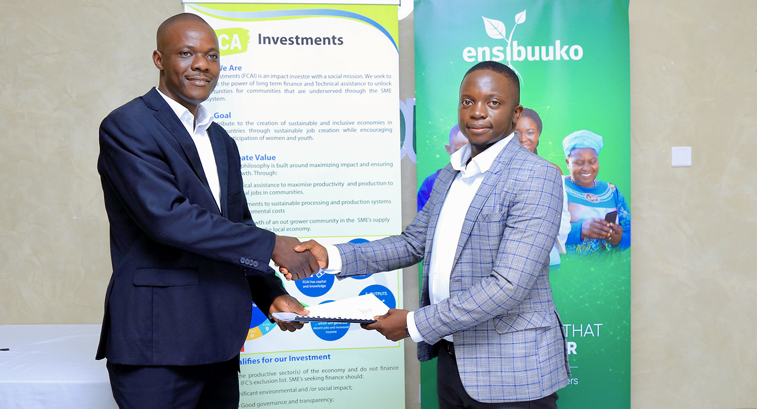 FCA Investments commits $1m seed investment to Ugandan fintech Ensibuuko