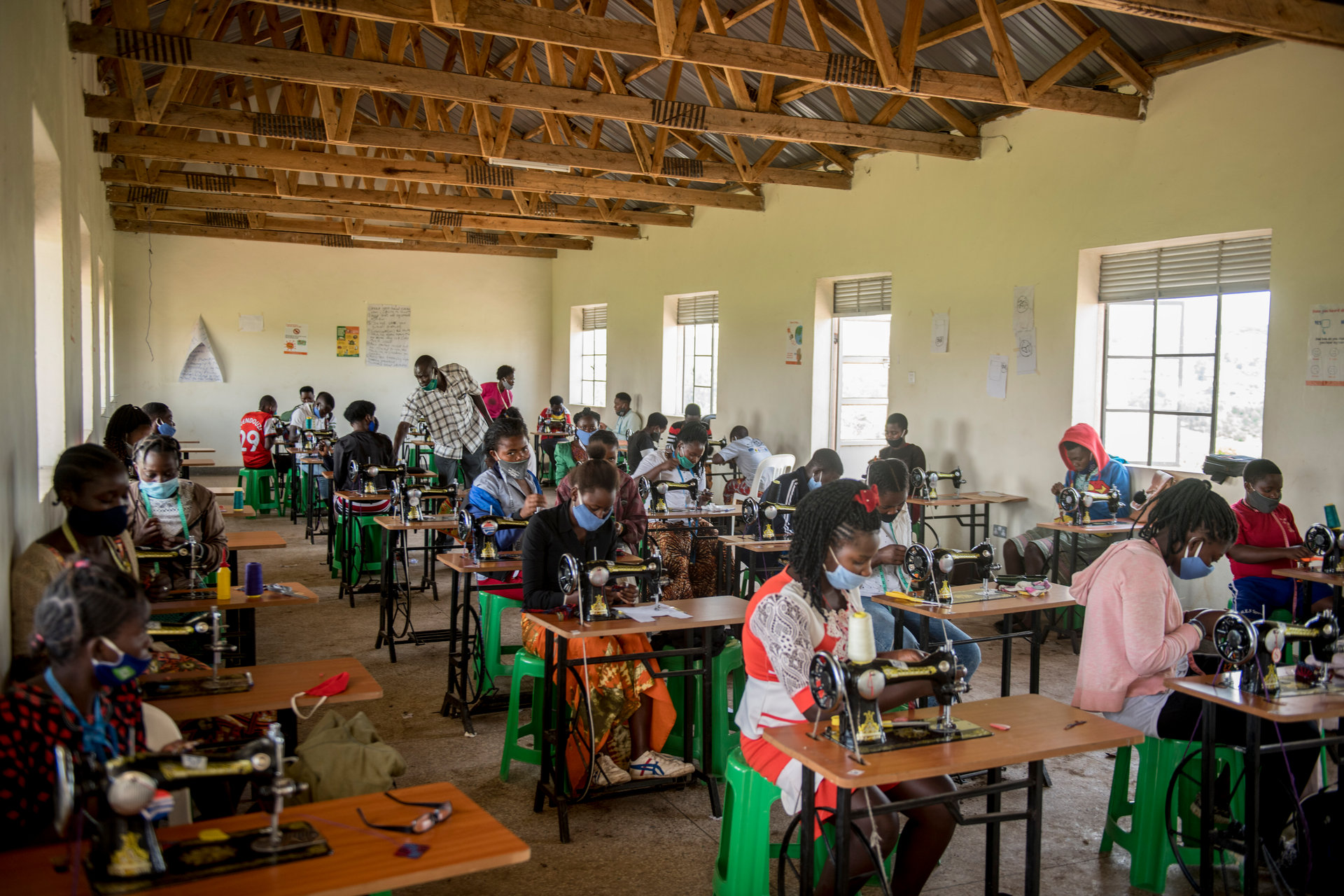 Business and Technical Vocational Education Training provides opportunities for a brighter future in Ugandan refugee settlements