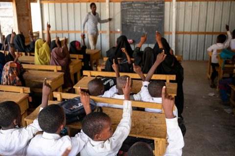Girls' education gains ground in Somalia's hard-to-reach area