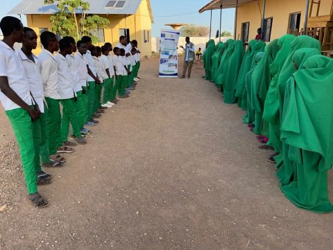 FCA improved access to education for 1146 overage and out of school children in hard to reach areas in Somalia