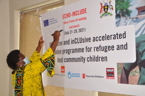 Innovative and Inclusive Accelerated Education Programme Launched to Support Children in Refugee and Host Communities In Uganda
