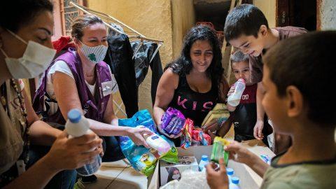 Kaiken nähneet Beirutin koululaiset tarvitsevat nyt tukea