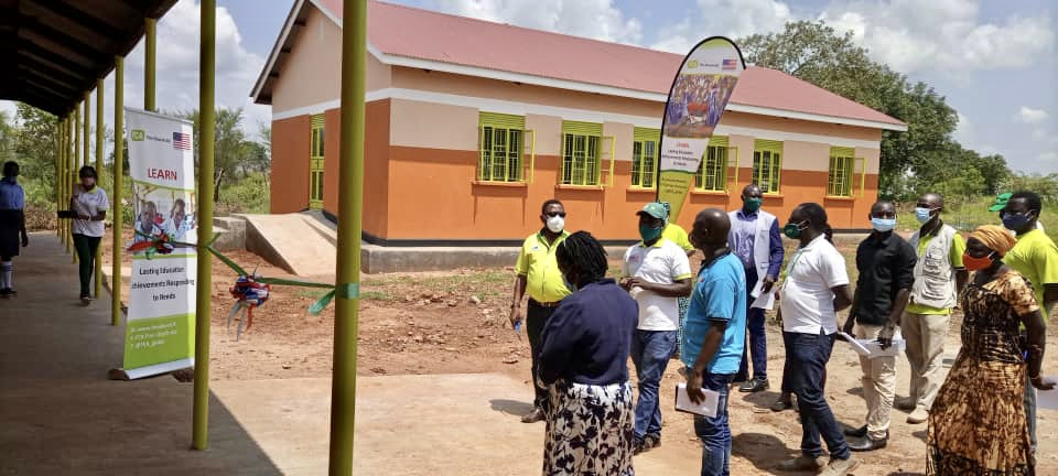 FCA hands over newly constructed school facilities in Ugandan refugee settlement