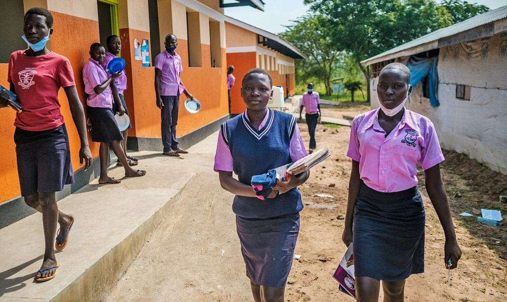 Education is an assurance of future for refugee girls
